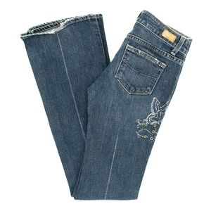 Paige Jeans Laurel Canyon Boot Cut Low Rise 26X33